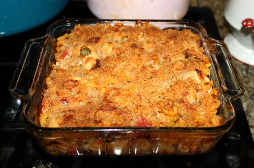 italian baked chicken and pastina