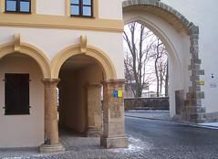 Nabburger Tor in Amberg (happycat) Tags: germany bayern gate arcade tor amberg oberpfalz arkade bogengang ostbayern bogentor