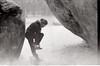Fontainebleau (Lena in wonderland :D) Tags: camping schnee winter bw holiday snow elephant france nature analog canon frankreich shoes rocks ae1 urlaub natur climbing bouldering schwarz fontainebleau put klettern kälte weis bouldern