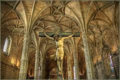 [フリー画像] [人工風景] [彫刻/彫像] [イエス・キリスト像] [教会/聖堂] [ポルトガル風景]      [フリー素材]