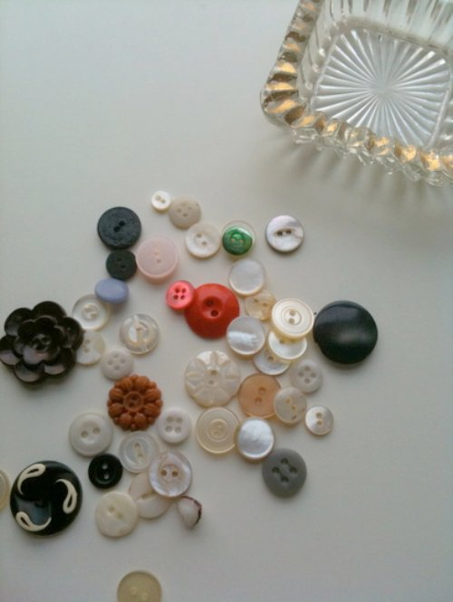 Buttons & Glass