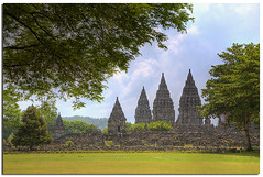 Prambanan Temple, Central Java (YYZDez) Tags: sea monument indonesia landscape ancienthistory ancient ruins asia southeastasia unescoworldheritagesite unesco yogyakarta hindu ancientcivilization hdr hindutemple ancientruins centraljava prambanantemple exposureblending photomatix digitalblending tonemapping ancientruin worldsite
