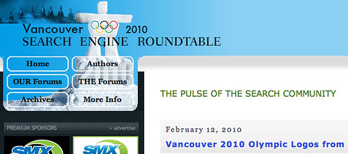 Olympics Logo from Search Engine Roundtable