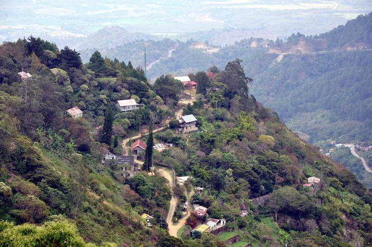 Honduras, Tegucigalpa, le parc national La Tigra
