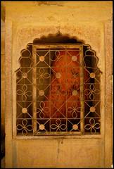 Bombay_04 (Chris Protopapas) Tags: india art architecture facade shrine arch pentax niche bombay grille shiva hinduism lingam saffron drumscanner justpentax smcpa28mmf28 pentaxart visipix hells3900 itsnotacapture