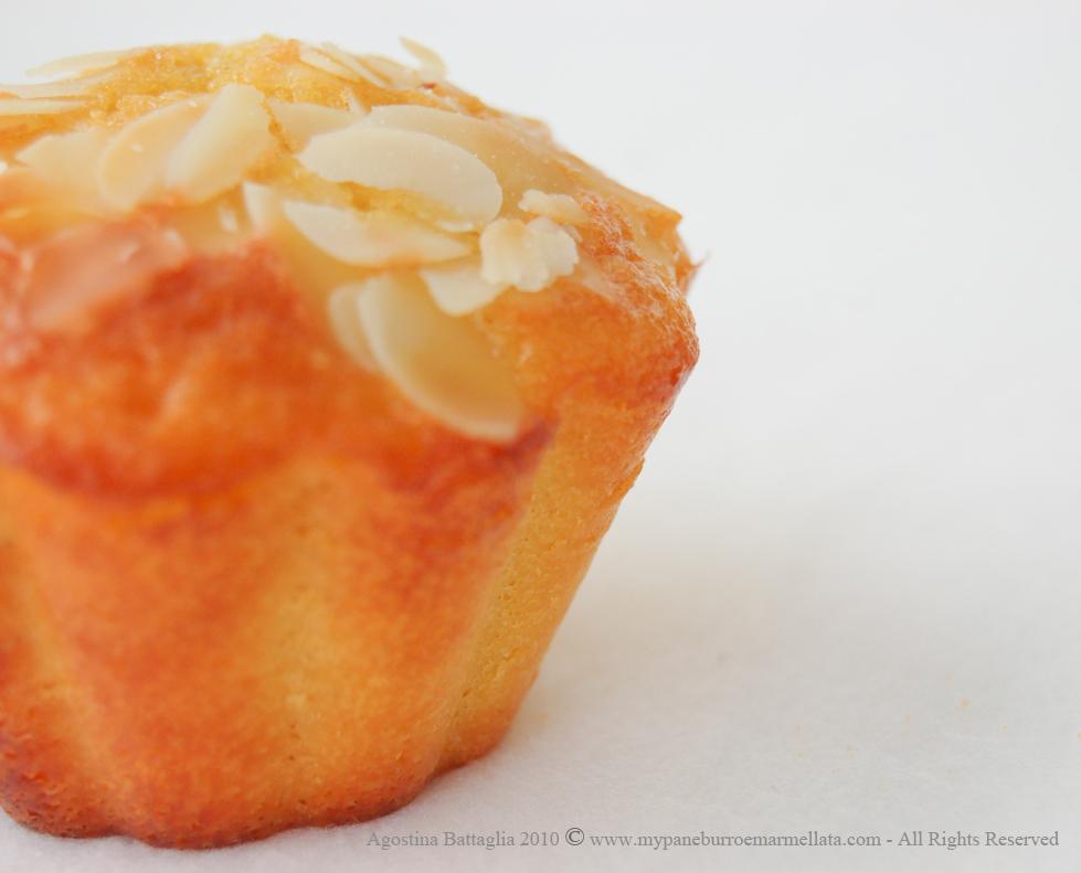 muffin mela mandorle