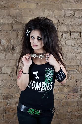 I Love Zombies Tank