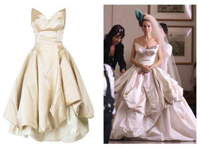 Carrie Bradshow w sukni Vivienne Westwood
