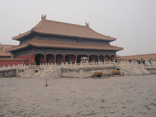 The Palace of Heavenly Purity in the Forbidden City