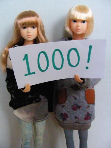 1000 views on my blog!