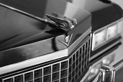 Cadillac (Salva Pagès) Tags: blackandwhite blancoynegro car 50mm girona bn cadillac coche dali gerona blancinegre cotxe canon50mm canon50mm18 púbol