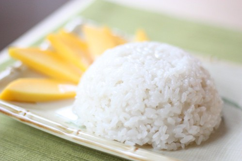 Coconut Mango Sticky Rice