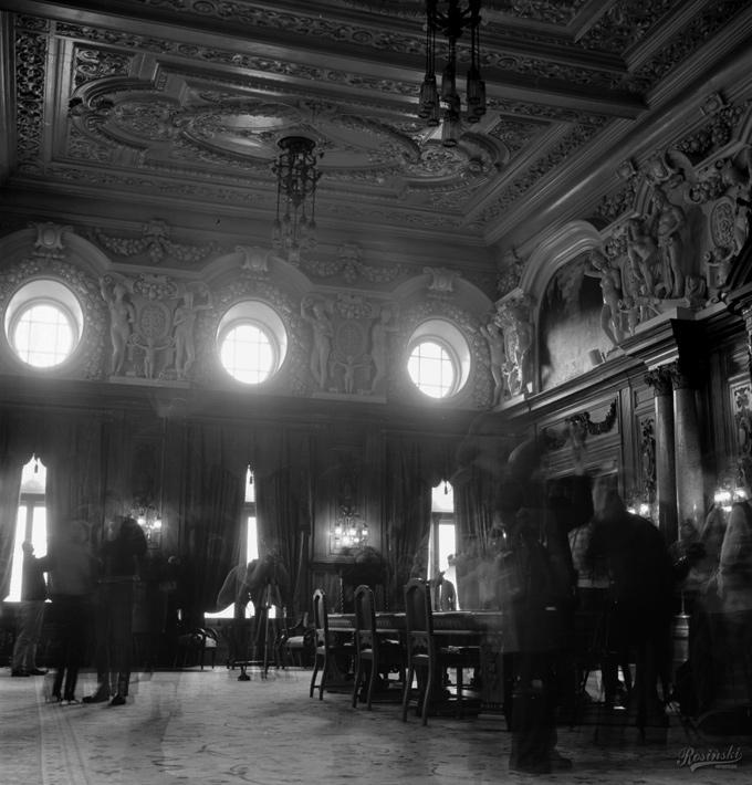 Wnętrza Pałacu Poznańskiego w Łodzi