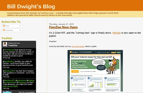 BlogDesign 1/21/2010