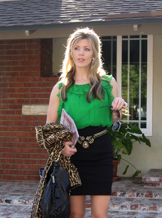 st patricks day green outfit leopard coat-6