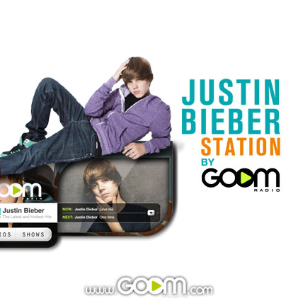 Justin Bieber lance sa radio officielle avec Goom Radio 4454135936_50533f3188_o