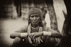 Hamar women (ingetje tadros) Tags: africa portrait people face market embroidery african jewelry tribal ethiopia ethnic 2010 ethiopian omo dimeka travelhamar