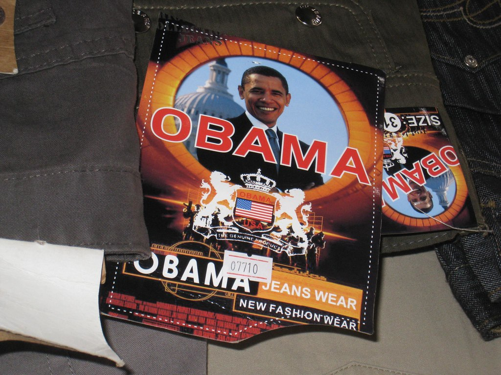 Slap an Obama tag on just about anything and we were told it'd sell well in the market.