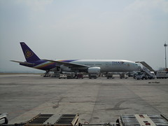 Thai Airways Kathmandu- Thai Airways International Boeing 777-200 HS-TJB (orclimber) Tags: plane airplane airport international thai kathmandu boeing airways 777200 tribhuvan hstjb