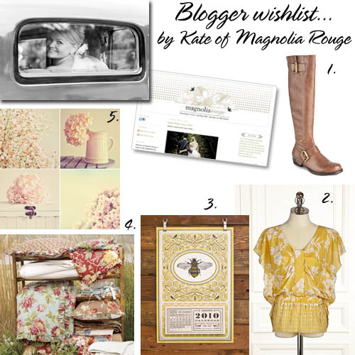 Magnolia Rouge wishlist