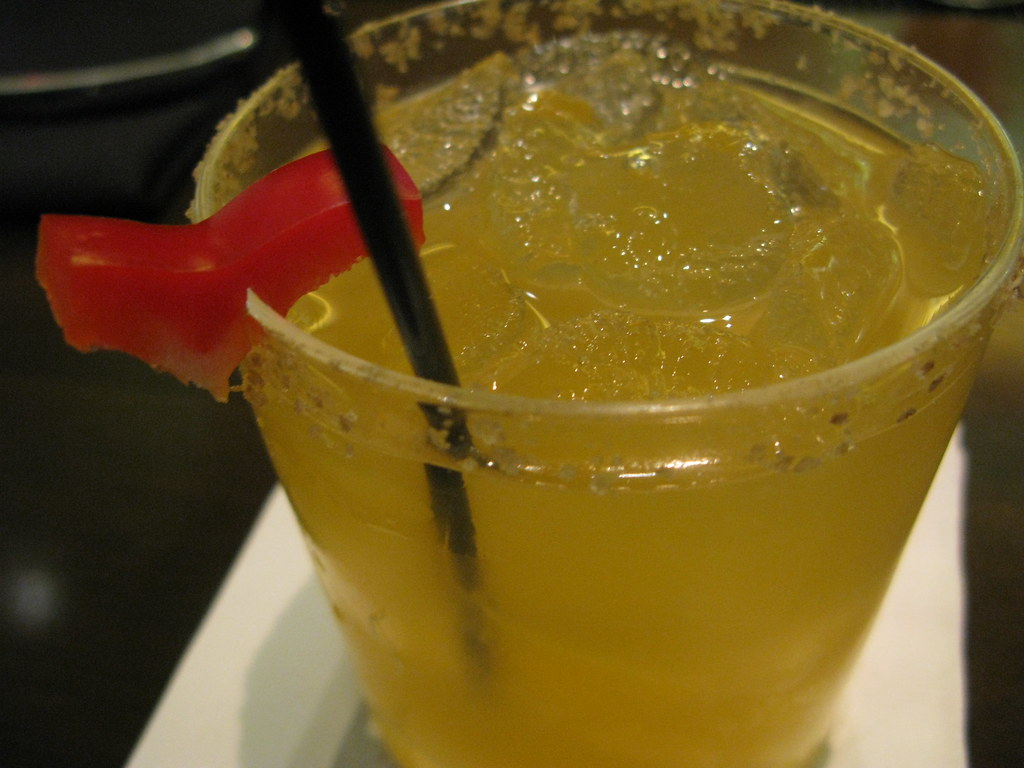 Drago Centro's Clockwork Orange cocktail by Caroline on Crack
