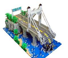 Brookline Bridge (Dylan B..) Tags: bridge dylan lego apocalypse infected outbreak brooklinebridge