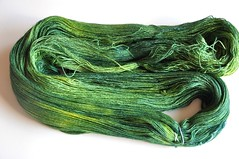 Schaefer Yarn after over dyeing