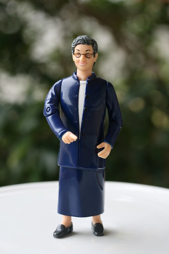 National Library Week - Librarian Action Figure