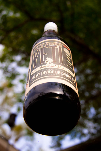 Oak Aged Yeti from above...