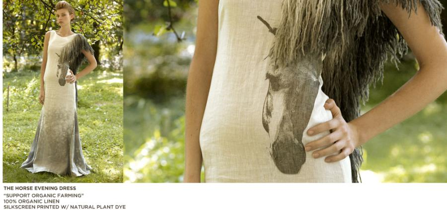 Mika Organic Horse evening dress