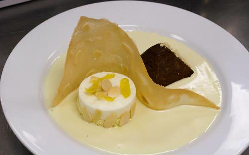 final plated dessert