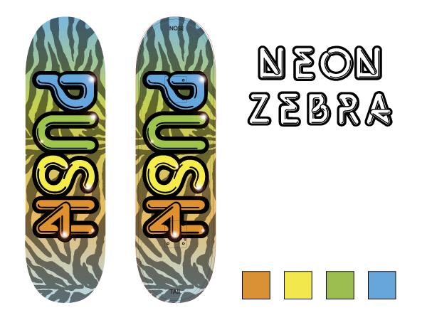Neon Zebra Design