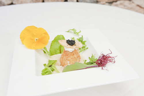 Dish of the day: Es Trull Battered egg with caviar