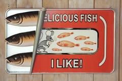 """delicious fish"" (roger vervloet) Tags: advertissement"
