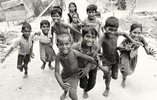 India, Kids having fun