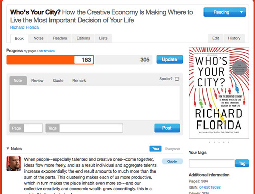 Who's Your City? by Richard Florida | Readernaut