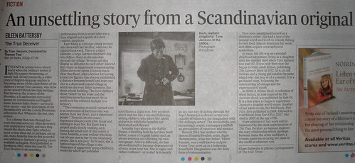 Something I saw in The Irish Times (October 2009)