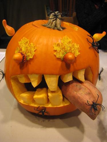 Pumpkin Inspiration: Teeth and Tongue