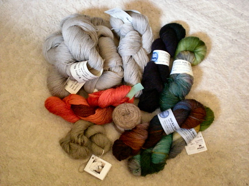 Rhinebeck yarn haul
