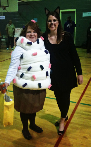 Halloween Cupcake Costume 2009