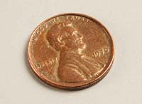 Daws Counterfeit Gold Penny