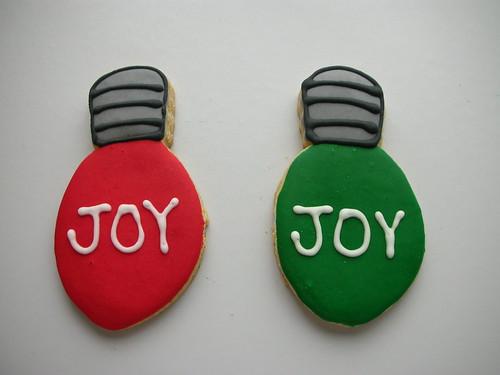 Cookie Luzinha de Natal