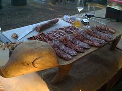 Primal cured meats (V!ckie) Tags: sausage napa primal curedmeat
