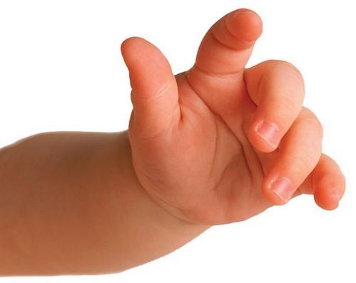 Babytæppe bølgemønster