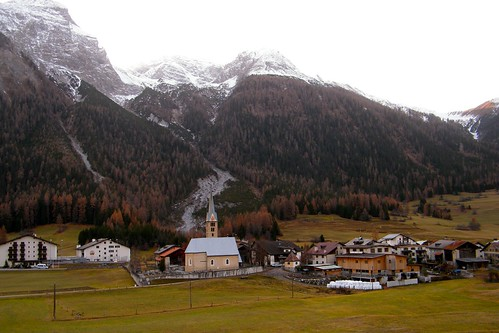 Train from Zurich to St Moritz