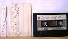 a trains crew mc (libraryofvinyl) Tags: history boston hiphop tapes leccoslemma