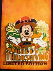 Happy Thanksgiving 2009 (partyhare) Tags: thanksgiving nyc pin disney mickey mickeymouse limitededition pilgrim happythanksgiving disneypin disneypintrading mickeypilgrim