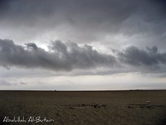 Black sky (Abdullah Al-Butairi) Tags: sky black مطر سماء غيوم صحراء سحاب طريق رمال زرقاء صحراوي