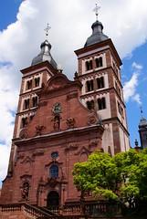 Amorbach, Abteikirche (Abbey Church) (HEN-Magonza) Tags: amorbach abteikirche barock baroque abbeychurch glockenturm bellfry belltower mainfranken unterfranken bayern bavaria lowerfranconia odenwald