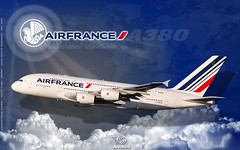 Wallpaper - A380 - Air France - 1920 x 1200